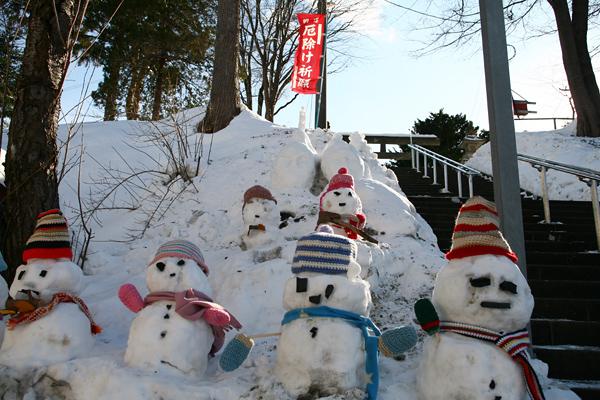 石山神社 初詣 2013