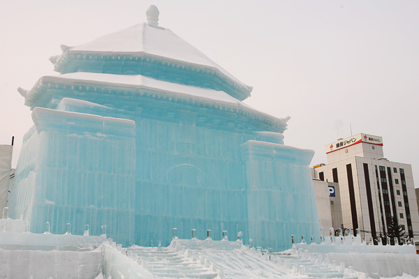第64回さっぽろ雪まつり 2013 中正記念堂