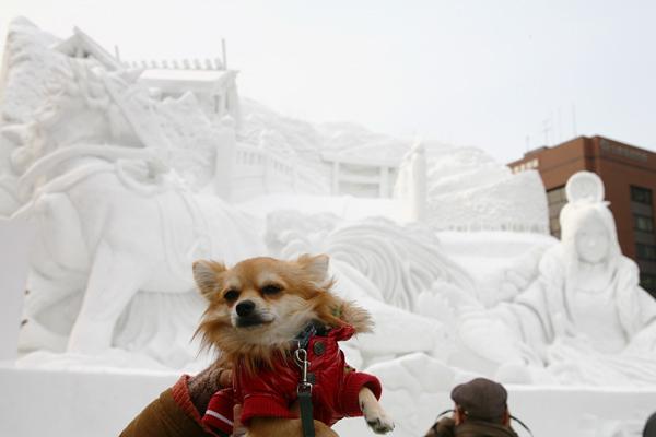 第64回さっぽろ雪まつり 2013 伊勢 神話への旅 茶太郎