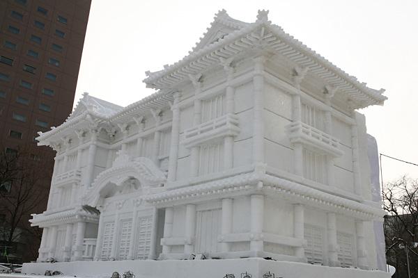 第64回さっぽろ雪まつり 歌舞伎座