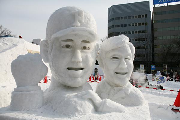 第64回さっぽろ雪まつり 大谷 栗山
