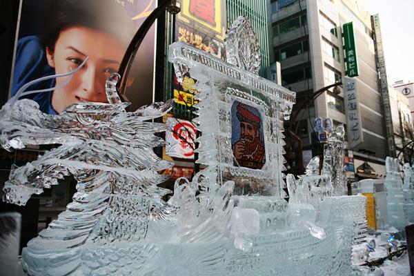 第33回すすきの氷の祭典 ニッカウヰスキー