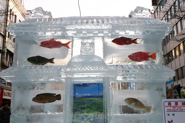 第33回すすきの氷の祭典 門