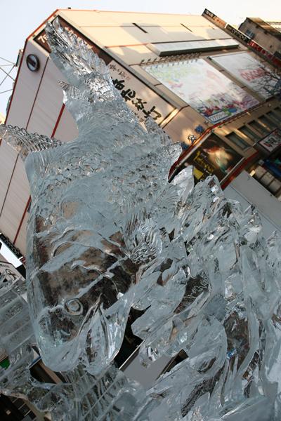第33回すすきの氷の祭典 鮭