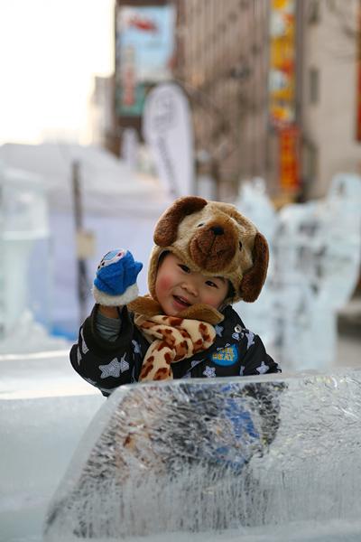 第33回すすきの氷の祭典 子供