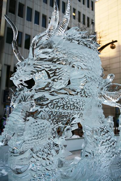 第33回すすきの氷の祭典 龍