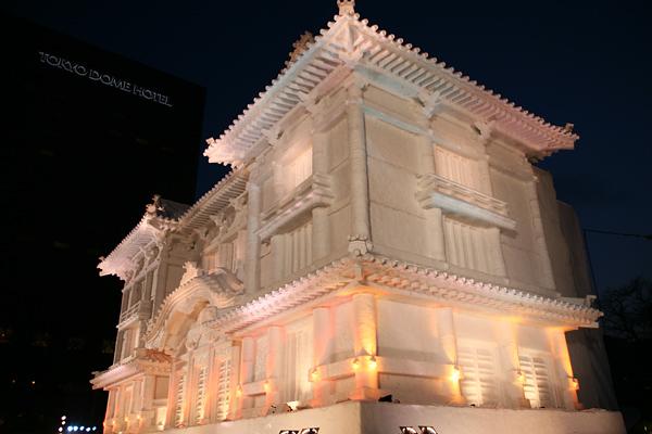 第64回さっぽろ雪まつり 歌舞伎座 夜