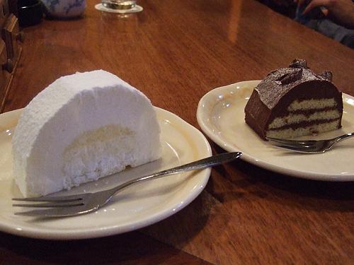 富良野 森の時計 ケーキ