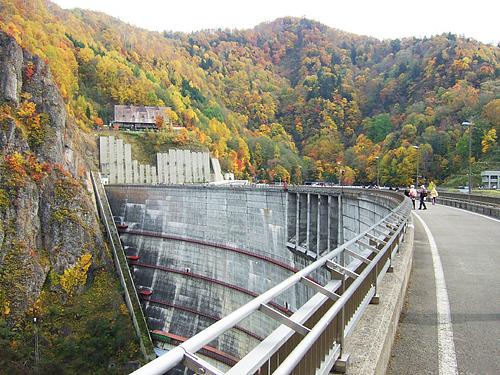 豊平峡 ダム