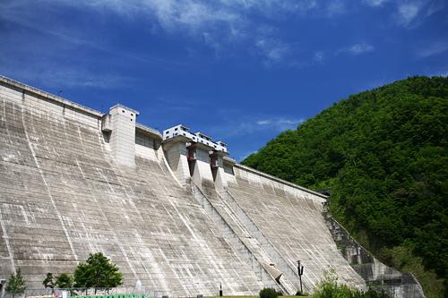 札幌湖 定山渓ダム下流園地