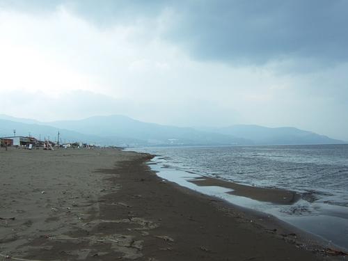 小樽 ドリームビーチ 砂浜