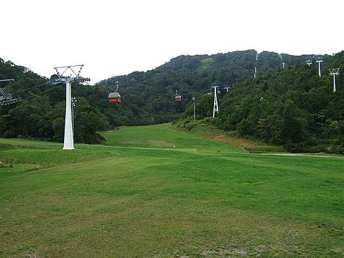 札幌国際スキー場 ゴンドラ 夏