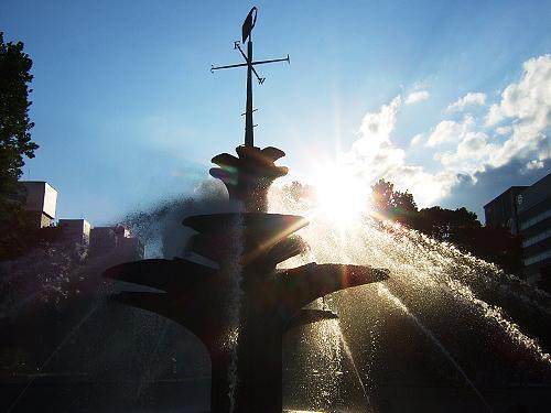 大通公園 噴水