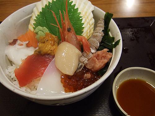 小樽運河食堂 10種の海鮮丼