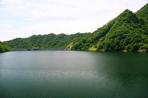 札幌湖 湖面