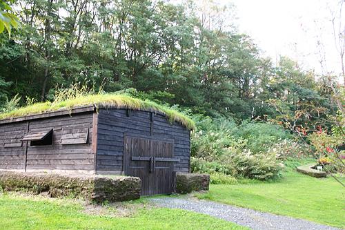 富良野 風のガーデン 納屋