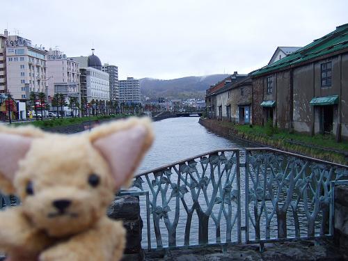 小樽 運河 小二朗