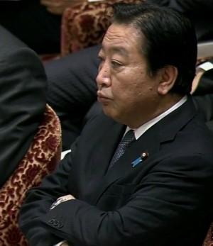 20120209稲田_野田ムスッ