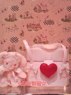 プレゼントBOX BAG ピンク