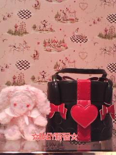 プレゼントBOX BAG 黒エンジ