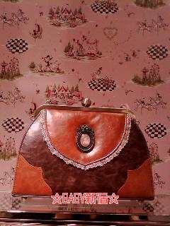 Fragrant Rose Memories Bag 茶 アップ