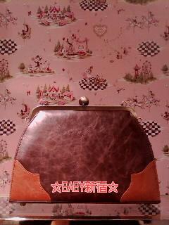 Fragrant Rose Memories Bag 茶 バック