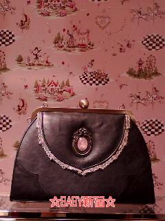 Fragrant Rose Memories Bag 黒 フロント
