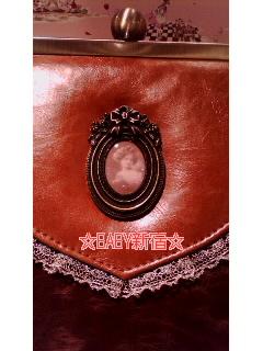 Fragrant Rose Memories Bag 茶 カメオ