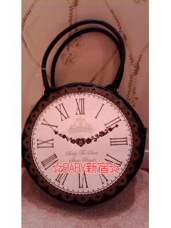 時計バッグ 黒