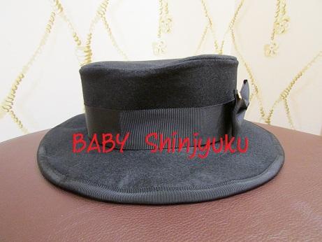 Mary HAT 黒