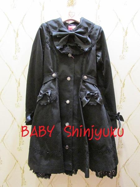 スプリングコート 黒