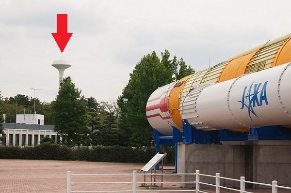 20140918筑波宇宙センター給水塔