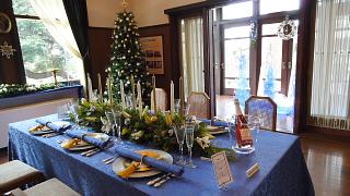 エリスマン邸テーブルセッティング1