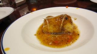 豆腐黒豆ソース