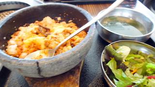 石鍋チーズビビンバ