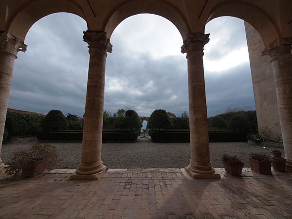 ピエンツァ宮殿庭