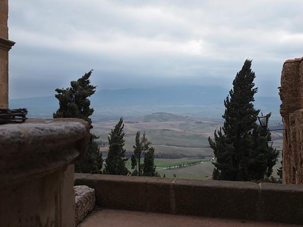 ピエンツァの田園風景