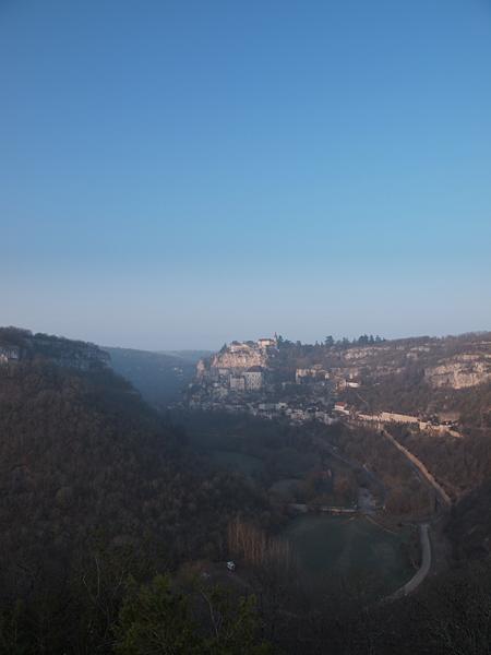 ロカマドゥールの遠景