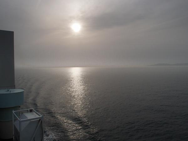 南海フェリーからの眺め