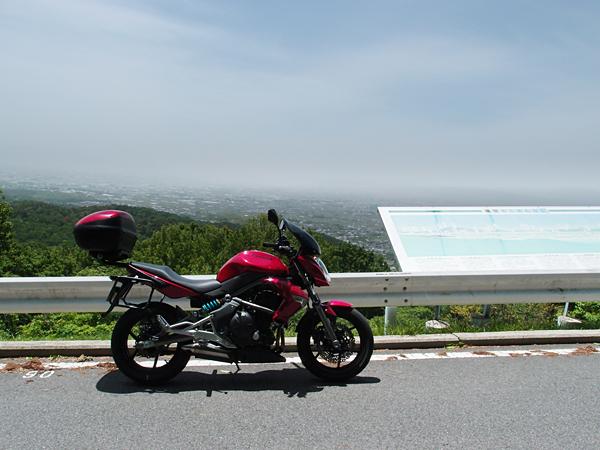 高円山の展望台