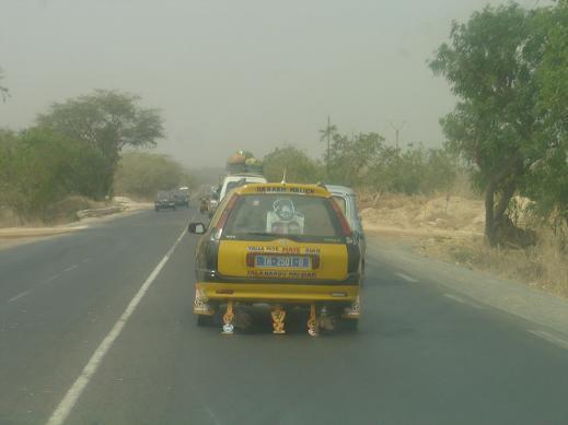 タクシーのデコ
