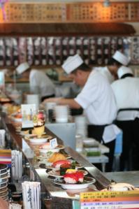 氷見の回転寿司