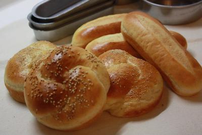 バンズパン&ドッグパン