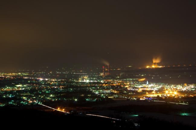 砂川市夜景