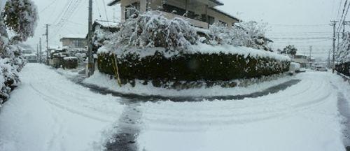 雪景色パノラマ