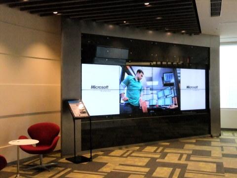 日本マイクロソフト社の様子