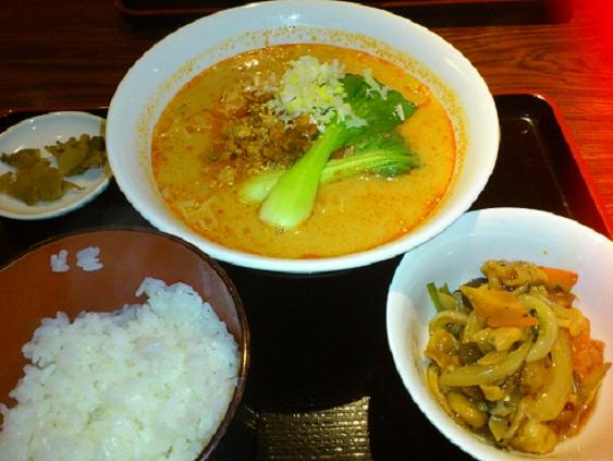 海皇 タンタン麺 ランチ.jpg