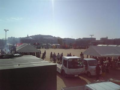 松永北の東村町「かかし祭り」1