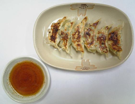 ベトコンラーメン光福亭「焼きギョーザ」