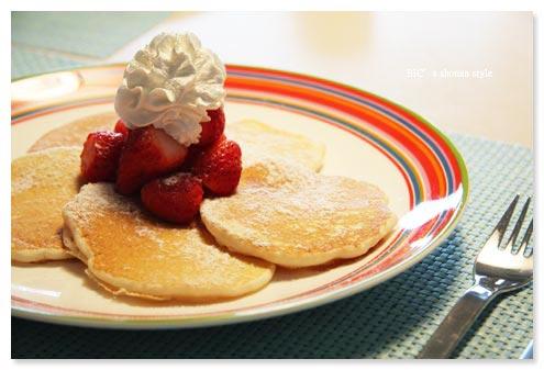 Eggs'nThingsのパンケーキ